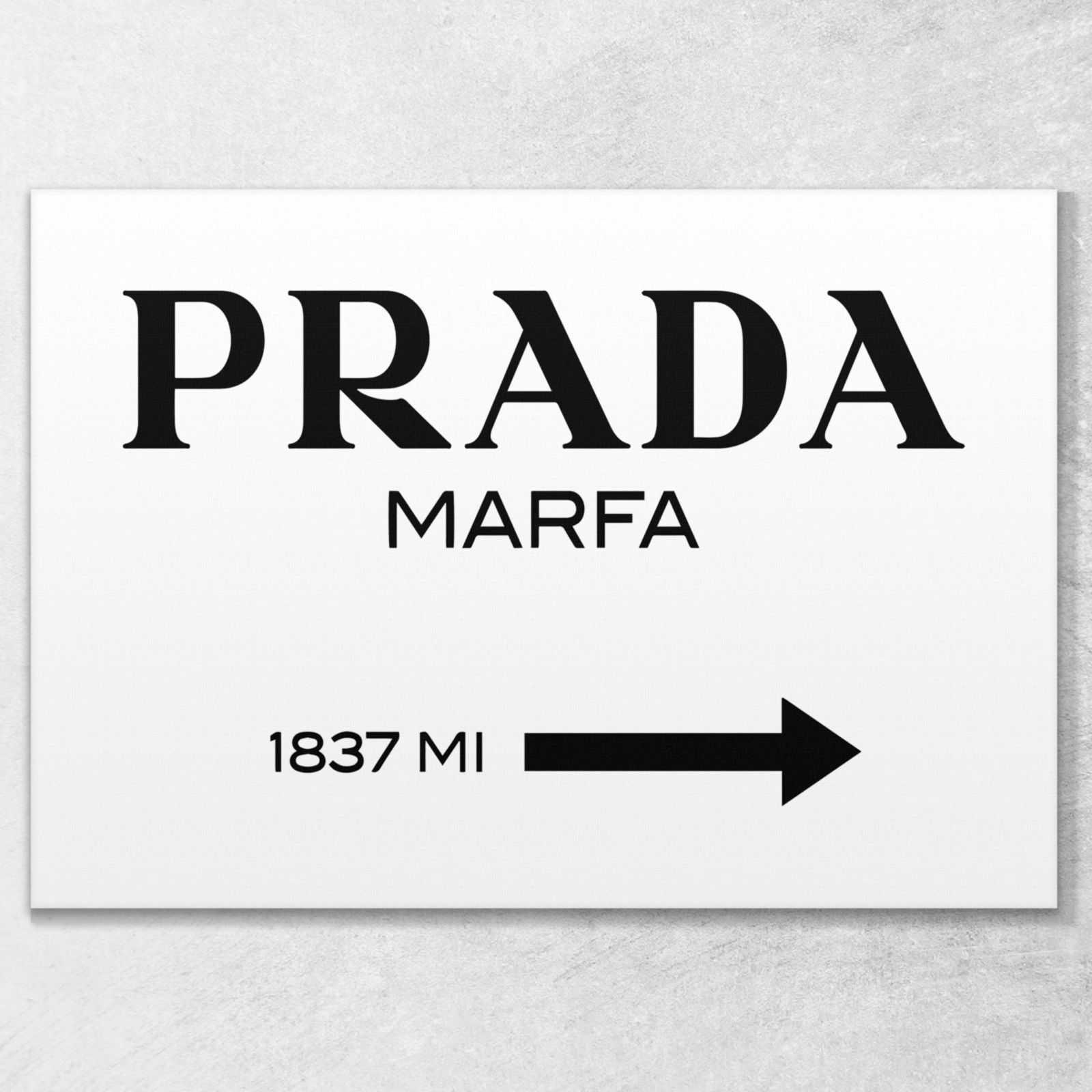 ❤️ Quadro Prada Marfa Gossip girl quadro moderno 70x50 cm stampa su tela