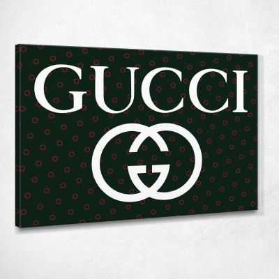 Quadro Gucci pois stampa su tela guo3