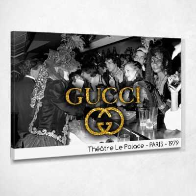 Quadro Gucci Théatre Le Palace stampa su tela guo9