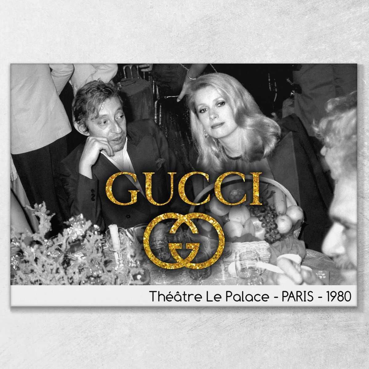 Quadro Gucci Théatre Le Palace stampa su tela guo10