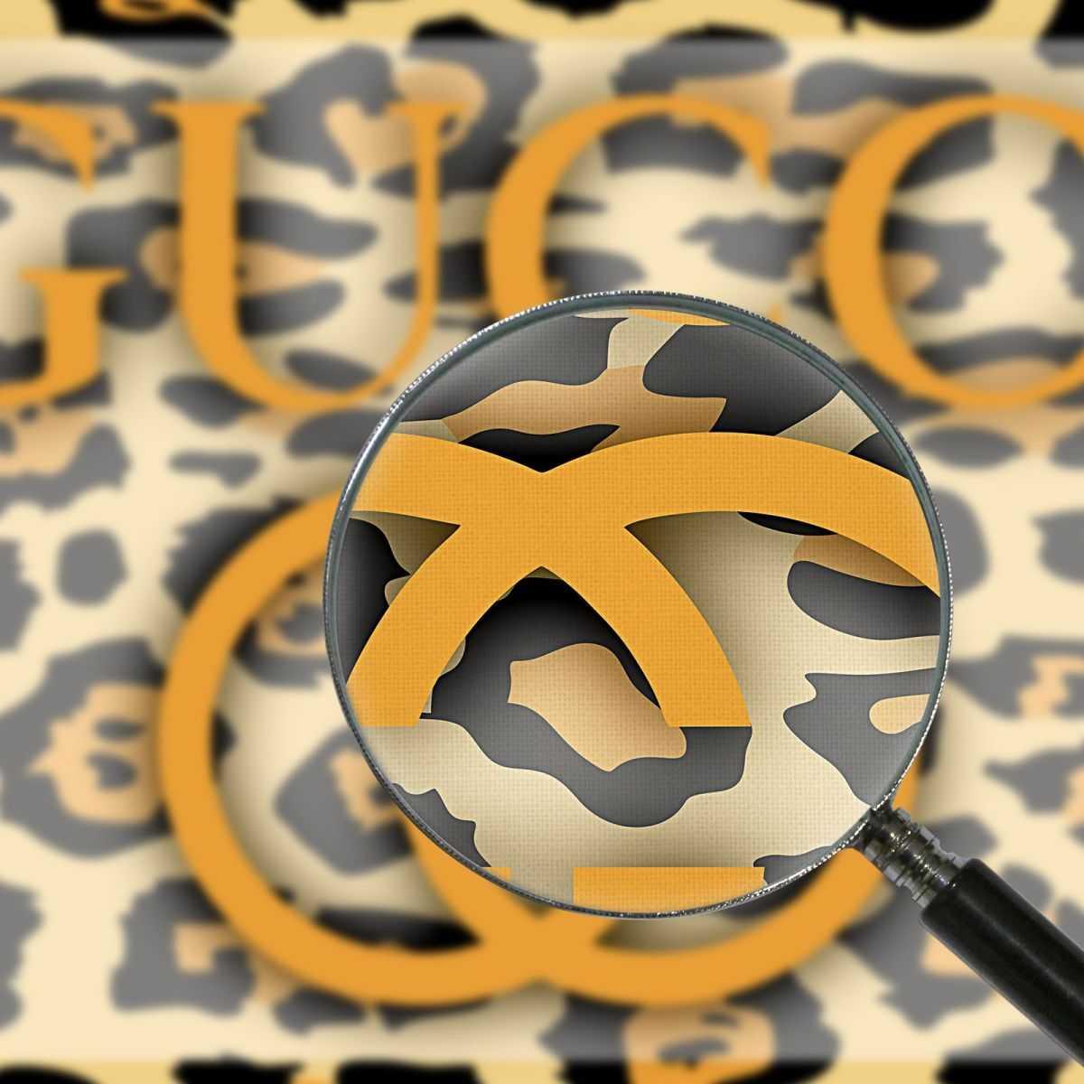 Quadro Gucci animalier leopardato stampa su tela guo21