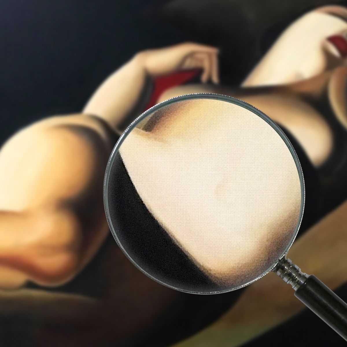 Quadro La Belle Rafaela Tamara de Lempicka quadro stampa su tela 100x70 cm LMT13